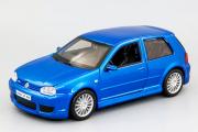 Volkswagen Golf R32, синий (1/24)