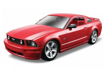 Ford Mustang GT 2006, красный (1/24)