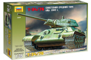 Танк Т-34-76 образца 1942 г. (1/35)