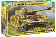 Танк T-IV G немецкий средний (1/35)