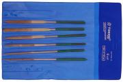 Надфили набор Tundra Baisic 6 шт. 140х50х3 мм алмазные, синий