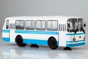 Автобус ЛАЗ-695Н, белый/синий (1/43)