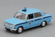 ВАЗ-2101 'Жигули' Милиция, синий (1/43)