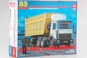 Сборная модель МАЗ-6422 с полуприцепом МАЗ-9506-30 (1/43)