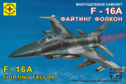 Самолет F-16A Lockheed Martin Fighting Falcon истребитель (1/72)