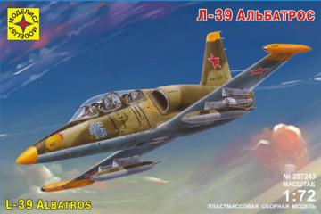 Самолет L-39 Albatros (1/72)