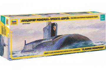 Подводная лодка 'Владимир Мономах' проекта 'Борей' (1/350)