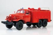 ЗИЛ-157К АТ-2 пожарный, красный (1/43)