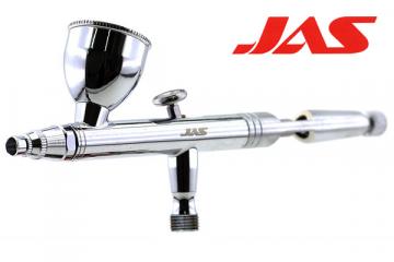 Аэрограф JAS 1132 (сопло конусное), 3 сменные емкости
