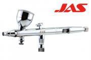 Аэрограф JAS 1137 (сопло конусное 0,3, Air Control), 3 емкости металл 2-5-13 мл