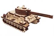 Конструктор 'Танк' 145х80х70 мм (35 дет). Дерево