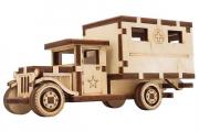 Конструктор 'Санитарный фургон' 145х65х50 мм (37 дет). Дерево