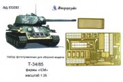 1/35 ФТ Танк Т-34-85 от ICM