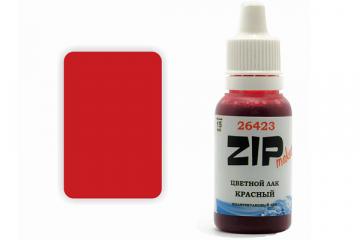 Лак красный акриловый 26423 - 15 мл