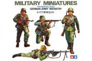 Солдаты Немецкие пехотинцы 4 фигуры (1/35)