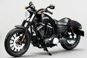 Мотоцикл Harley-Davidson Sportster Iron 883 2014, черный/серебро (1/12)