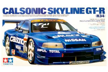 Автомобиль Nissan Calsonic GT-R (R34) (1/24)