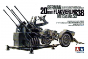 Пушка Flakvierling 38 четырехствольная зенитная 2 см (1/35)