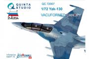 Набор остекления Як-130 с дет.шнуром (Звезда) (1/72)