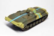 БМП-1 МС №433, хаки/желтый (1/72)