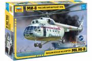 Вертолет МИ-8 МЧС (1/72)
