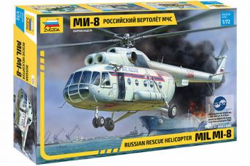Вертолет МИ-8МЧС (1/72)