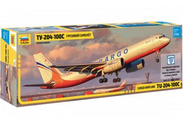 Самолет Ту-204-100С грузовой (1/144)