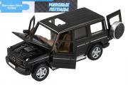 Mercedes-Benz G350d Гелендваген (свет, звук, инерция), черный (1/32)
