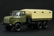 КрАЗ-6322 бортовой с тентом, хаки (1/43)