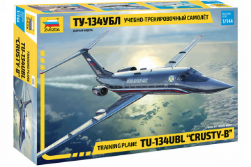 Самолет ТУ-134УБЛ (1/144)