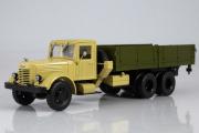 ЯАЗ-210 бортовой, бежевый/зеленый (1/43)