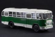 Автобус ЗИЛ-158 городской, зеленый/бежевый (1/43)