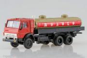 КАМАЗ-53212 'Молоко', красный/бежевый (1/43)