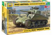 Танк M4A2 Sherman (Шерман) американский средний (1/35)