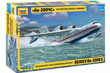 Самолет Бе-200ЧС амфибия (1/144)