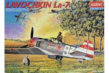 Самолет La-7 (1/48)