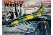 Самолет Mig-21PF (1/48)