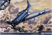 Самолет USN SBD-2  (1/48)