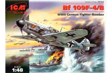 Самолет Messerschmitt Bf 109F 4/B (1/48)