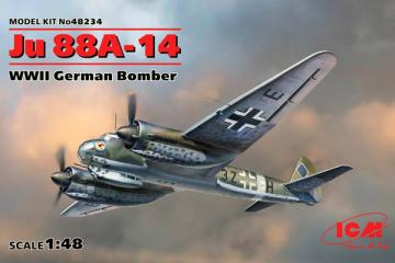 Самолет Ju 88A-14 (1/48)