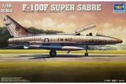 Самолет F-100F (1/48)