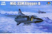 Самолет Mig-23M (1/48)