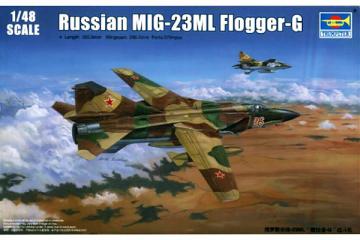 Самолет Mig-23ML (1/48)