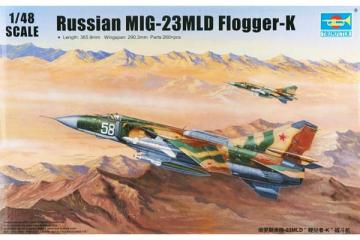 Самолет Mig-23MLD (1/48)