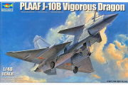 Самолет Plaaf J-10B Vigorous Dragon (1/48)