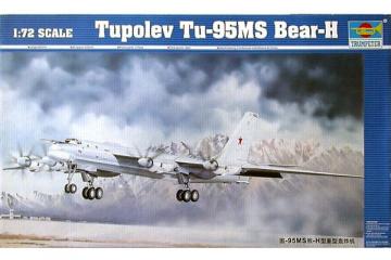 Самолет Tu-95MS (1/72)