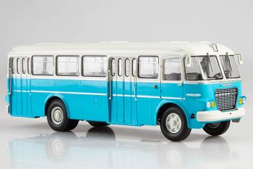 Автобус Икарус-620, голубой (1/43)