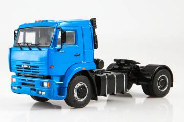 КАМАЗ-5460 седельный тягач 4х2, синий (1/43)