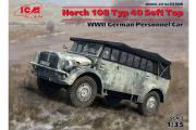 Автомобиль Horch 108 Typ 40 с поднятым тентом (1/35)