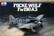 Самолет Focke-Wulf Fw190 A-3 немецкий истребитель (1/72)
